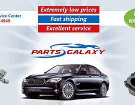 rooney010 tarafından Banner Ad Design for Auto Parts website için no 37