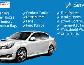 #5 untuk Banner Ad Design for Auto Parts website oleh sharkmedia