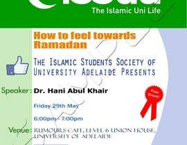#24 for Flyer for 'Ramadan Lecture' af indunil29
