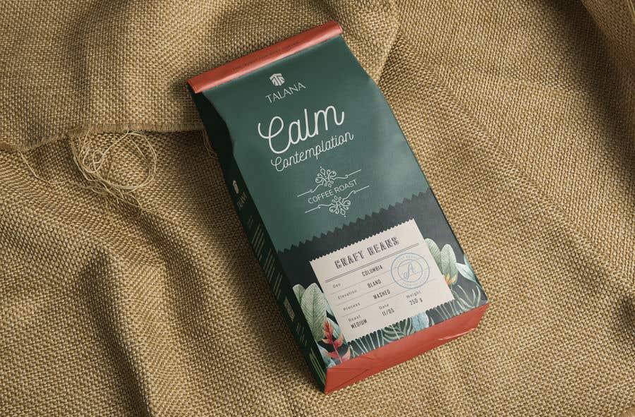 Kilpailutyö #                                        89                                      kilpailussa                                         Talana Coffee package label design