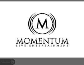 nº 64 pour Logo Design for Momentum Live Entertainment par Dewieq