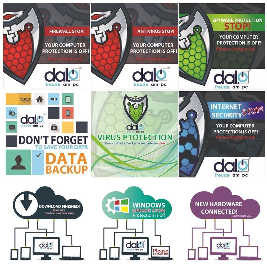 Konkurrenceindlæg #                                        3                                      for                                         Design of Desktop messages on Computers