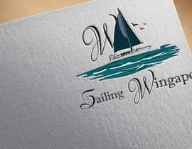#239 untuk Sailing Wingapo Logo - for a family about to sail around the world oleh roksanaakter1