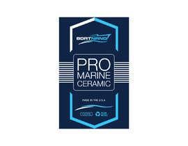 #64 for Design bottle label for Marine Pro Ceramic Coating af ittadi99