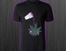 #41 for A logo for a t shirt. Weed leaf with eyes and mouth like it's a head and the hands at the bottom by azmiridesign