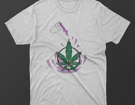 #37 for A logo for a t shirt. Weed leaf with eyes and mouth like it's a head and the hands at the bottom by MDNAJIMPARVES