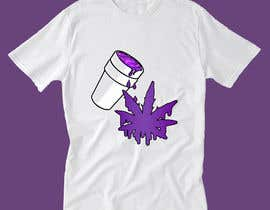 #39 for A logo for a t shirt. Weed leaf with eyes and mouth like it's a head and the hands at the bottom by isratjahan21