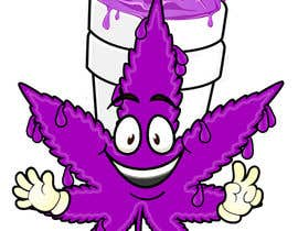 #15 for A logo for a t shirt. Weed leaf with eyes and mouth like it's a head and the hands at the bottom by paolove