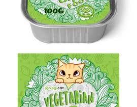 #97 for Design Cat Food Label af onajessie