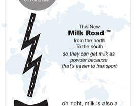 #2 untuk Milk Road to Tasmania Design Contest 1 Page Poster $80 oleh viditgaur00
