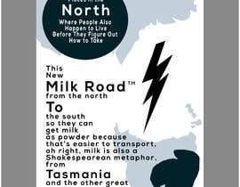 #169 untuk Milk Road to Tasmania Design Contest 1 Page Poster $80 oleh habibabinteaziz