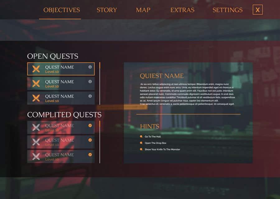 Contest Entry #                                        13                                      for                                         Make Horror Game UI (VR)