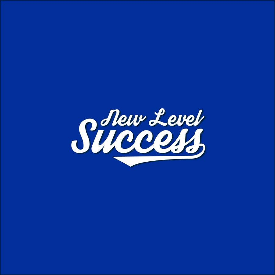 """Penyertaan Peraduan #                                        81                                      untuk                                         I need a logo designed. I want """"New Level Success"""" in the same style as the Dodgers logo that I will be attaching. - 05/04/2021 23:17 EDT"""