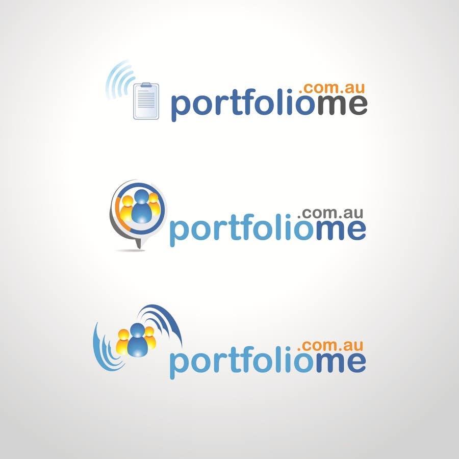 Bài tham dự cuộc thi #                                        74                                      cho                                         Design a Logo for portfoliome.com.au