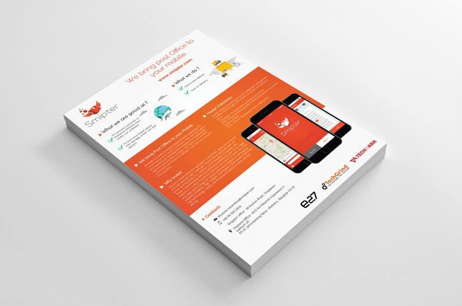 Contest Entry #                                        25                                      for                                         Design an A4 Brochure for Smipter's Executive Summary