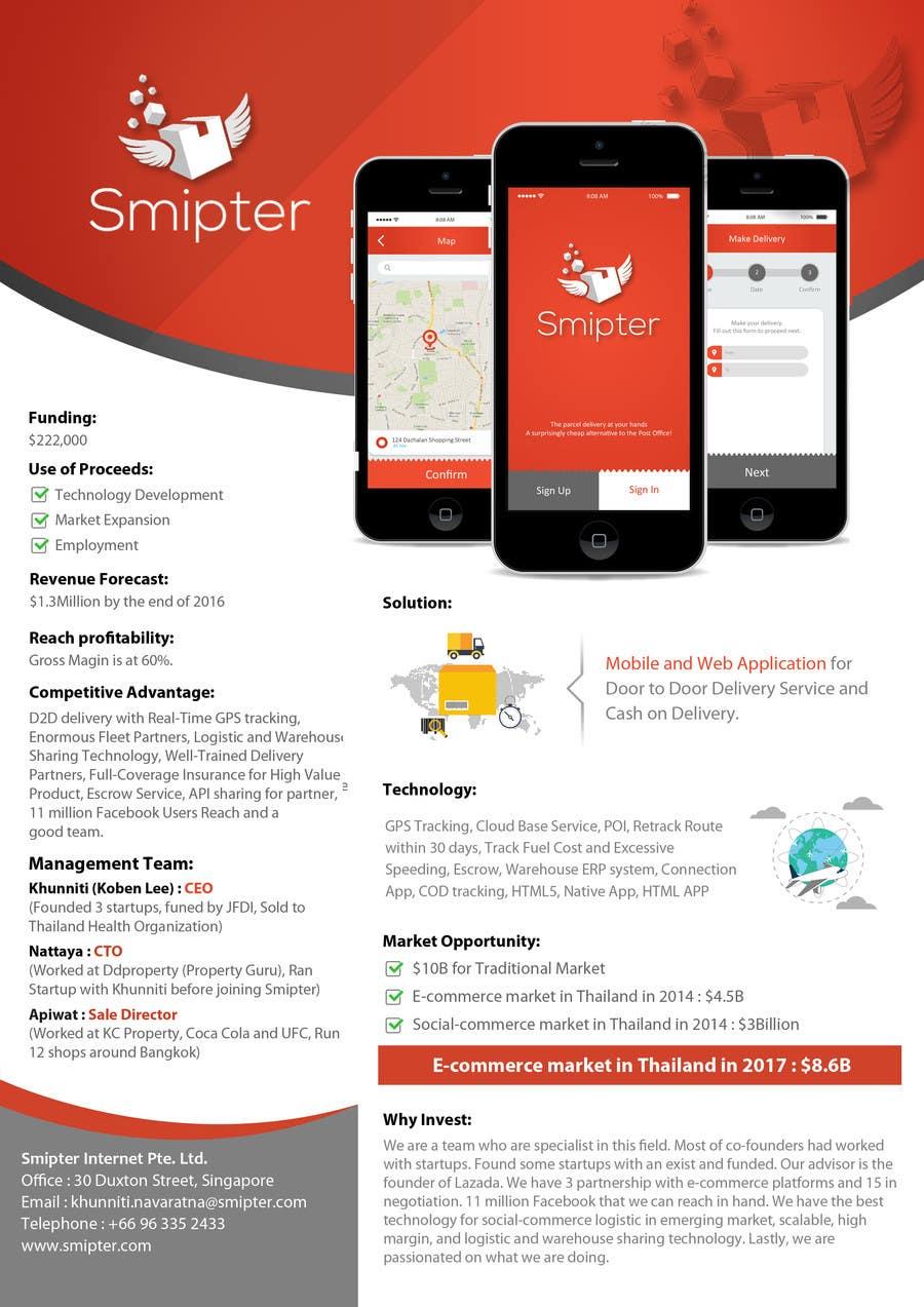 Contest Entry #                                        28                                      for                                         Design an A4 Brochure for Smipter's Executive Summary