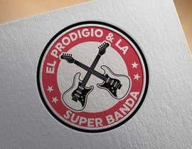 #354 для Minimalist modern logo design for musical group от mizangraphics
