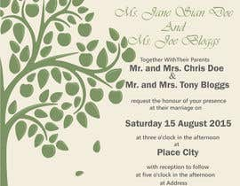 #33 untuk Design some Stationery for a Wedding oleh taranpreet74
