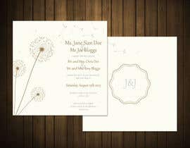 #41 untuk Design some Stationery for a Wedding oleh CozeeB