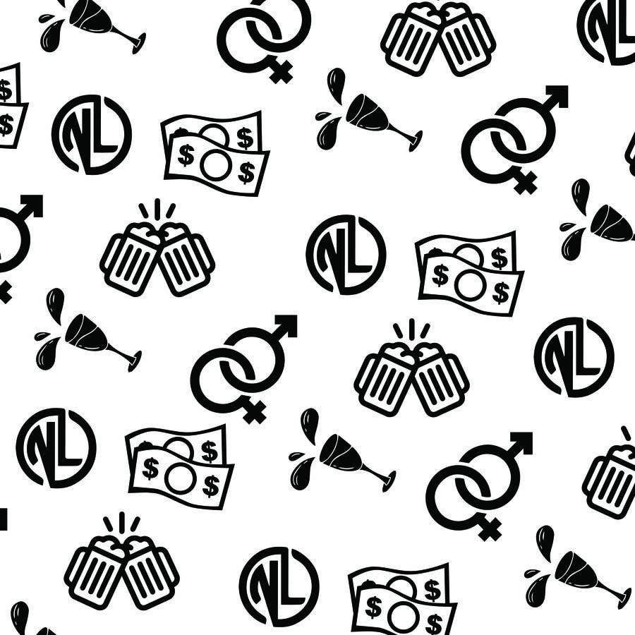 Kilpailutyö #                                        8                                      kilpailussa                                         I looking for a Repeating Pattern with my brand in mind