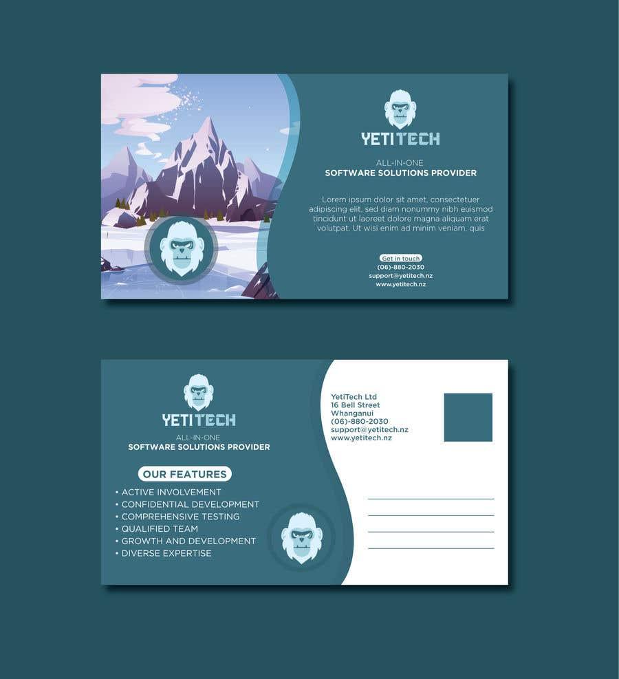Konkurrenceindlæg #                                        17                                      for                                         EASY WORK: Design Marketing Post cards for Web Development company - 07/04/2021 22:29 EDT