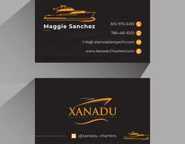 #444 cho Xanadu Luxury Charters - Business Card Design bởi MHnoyon6