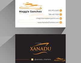 #445 cho Xanadu Luxury Charters - Business Card Design bởi MHnoyon6