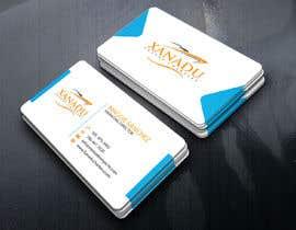 #448 cho Xanadu Luxury Charters - Business Card Design bởi kroyshamal