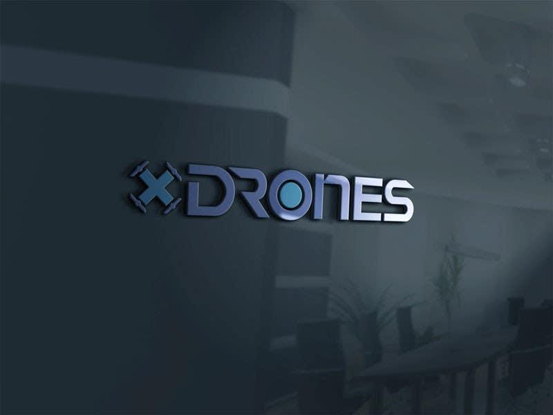 Konkurrenceindlæg #                                        55                                      for                                         Design a Logo for XDRONES.com