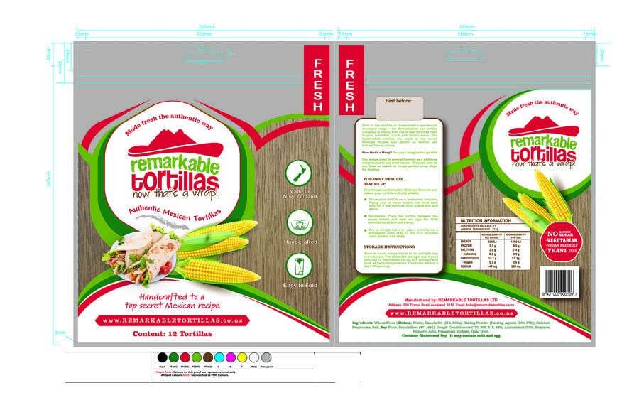 Kilpailutyö #                                        12                                      kilpailussa                                         Extra Soft Corn Tortilla