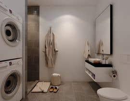 nº 51 pour 3D rendering kitchen, bathroom. par ialderino