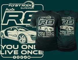 #232 untuk I need a t-shirt design for cars fans oleh Maxbah