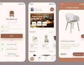 #39 for design futuristic app for furniture shop by mawyajannathul7