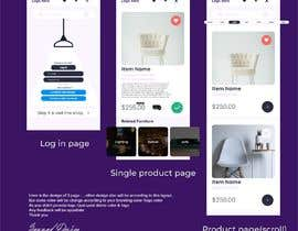 #15 for design futuristic app for furniture shop by zsazzaddesign
