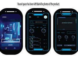 #21 for design futuristic app for furniture shop by rajjeetsaha