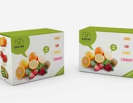 #1 para Create a packaging design and label for fruit company por joosuedi