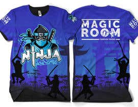 #162 for Ninja Academy T-shirt contest af moisanvictores