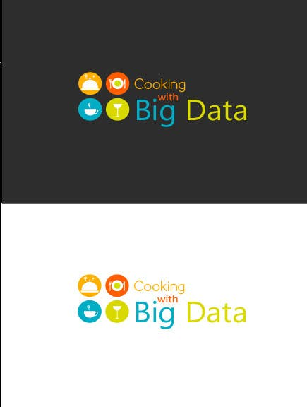 #84 for Design a new website logo - Cooking with Big Data by danutudanut93