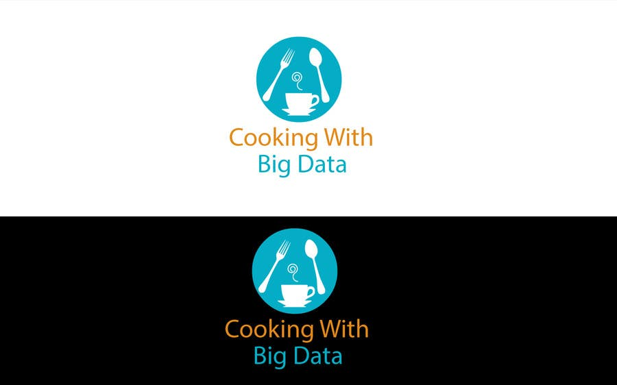 #71 for Design a new website logo - Cooking with Big Data by jeganr