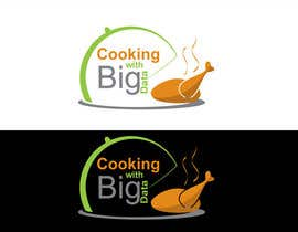 #88 para Design a new website logo - Cooking with Big Data por jeganr