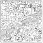 Graphic Design Entri Peraduan #49 for Draw a coloring page for a Portland, Oregon restaurant