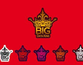 #79 untuk Website and Trade Stand Logo Design - Big Data King oleh shaqfis