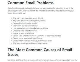 #6 pentru Tech support to fix email issue de către BikiDesign