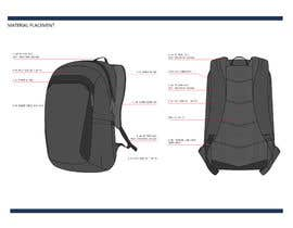#24 for Design a sketch of an adventure backpack af arizaabdilah