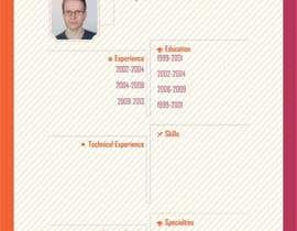 Nro 48 kilpailuun A inventive Resume template käyttäjältä jdadhich2011