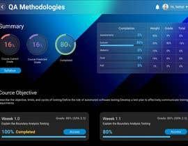 Nro 75 kilpailuun Re-Design a Learning Management System UI käyttäjältä NehalAhmad75