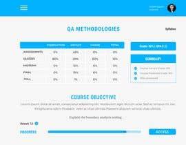 Nro 56 kilpailuun Re-Design a Learning Management System UI käyttäjältä UISojib