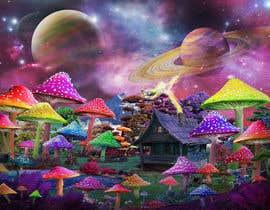 #77 untuk Create Fantasy / Psychedelic 3D Scene Landscape Artwork oleh Acraze