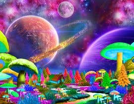 #53 untuk Create Fantasy / Psychedelic 3D Scene Landscape Artwork oleh panjamon