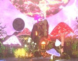 #63 untuk Create Fantasy / Psychedelic 3D Scene Landscape Artwork oleh Yateesh2